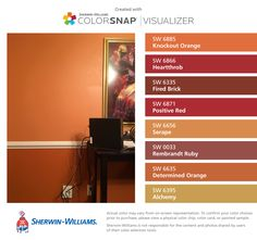 Carnival paint color SW 6892 by Sherwin-Williams. View ...