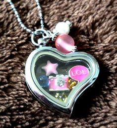 Picture the Good Times Living Memories Locket by PinkRocksBoutique, $15.00 Good Times, Bling, Memories, Pendant Necklace, Trending Outfits, Heart, Unique Jewelry, Handmade Gifts, Pictures