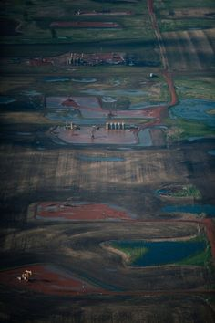 Gorgeous Aerial Photos Capture the Ironic Beauty of Fracking in North Dakota - by Tristan Spinski