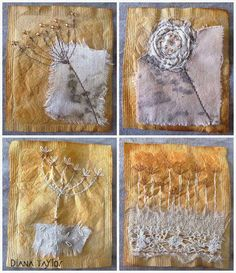 Velvet Moth Studio: Tea Bag Art and Recuperation