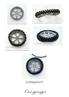 Tire-shaped bead work. I wonder if it can be adapted to a bicycle tire.