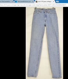 Levi's 512 jeans vintage high rise slim fit taper mom boyfriend cotton USA ~ http://stores.ebay.com/thecurrentfashion?_dmd=2&_nkw=Levi , http://stores.ebay.com/thecurrentfashion/Jeans-/_i.html?_fsub=7072405012 , http://thecurrentfashion.com | #TheCurrentFashion #USA  #MadeInUSA #Levis #Levis512 #LiveInLevis #jeans #denim #bluejeans #vintageLevis #vintagejeans #fashion #style #shopping #onlineshopping #eBay #eBayFashion #pants #vintagedenim #lookinggood #feelinggood #need #want #musthave