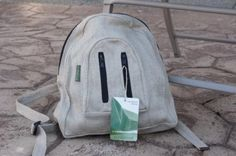 Hemp Mini Backpack available on E-Bay classified for a super low price