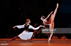 Nachrichtenfoto : Yuliana Stepanova as Medora and Denis Rodkin as...