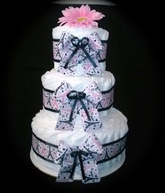 Paris French Theme Diaper Cake for Baby Girl  by LittleKGsDreams, $8.00 Baby Shower Diapers, Baby Shower Gifts, Baby Gifts, Paris Baby Shower, Baby Girl Cakes, Nappy Cakes, Baby Shower Themes, Shower Ideas, Girl Shower