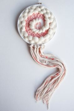 Lovely Dream || fluff weave - weaving - theweavingloom | ello