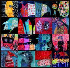 Halloween collage... Elke Trittel