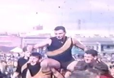 Richo's dad chaired from ground at Punt Rd 1960s..played in 67 premiership team