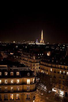 City of lights, Paris.