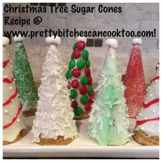 Sugar Cone Christmas Trees and Treats!