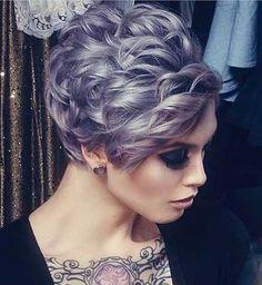 Curly Hair Pixie