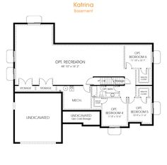 3 bedroom rambler floor plan for your new utah home the for Rambler house plans utah