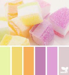 Sugared hues