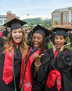 Registrar | Commencement - Graduates | Liberty University University Graduation Dresses, Graduation Day, Liberty University, Ladies Dress Design, Dresses Online, Masters, Career, Building, Shop