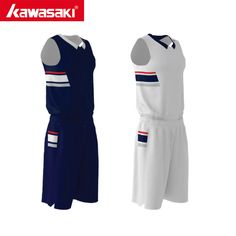 2f0807211 Kawasaki Original Custom Men Reversible Basketball Uniform Sets Custom Plus  Size S-4XL Practice Jerseys