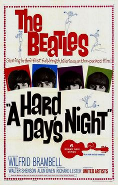 A Hard Day's Night (1964) directed by Richard Lester