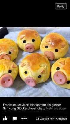 Schweinchen mit Wiener