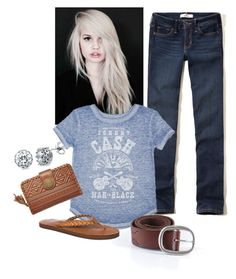 Untitled #4 by madisonbrown904 on Polyvore featuring polyvore, fashion, style, Hollister Co., Rainbow, Billabong, BERRICLE, American Eagle Outfitters, Beauty Secrets and clothing