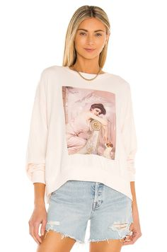 Deepika Padukone Hair Color, Female Friendship, Ready To Wear, Dads, Graphic Sweatshirt, Fancy, Wildfox, Sweatshirts, Whimsical