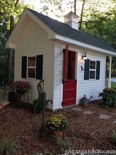 A dream garden shed!!