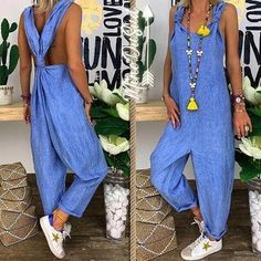 Jumpsuits-0514 Two Piece Outfit, One Piece, Rompers Women, Wide Leg Pants, Spring Summer Fashion, Plus Size, Clothes For Women, Casual, Outfits