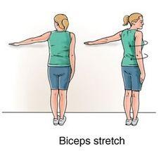 bicep stretch - photo #11