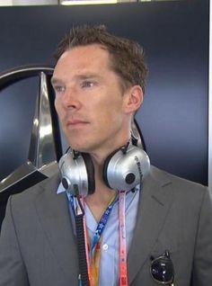 Ben at The China F1 Grand Prix - 12th April 2015