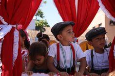 Feria del Rocío, unos pequeños muy lindos :)