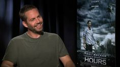 """Interview with Paul Walker on his new film """"Hours....,RIP Paul Walker"""