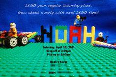 Lego Birthday Party
