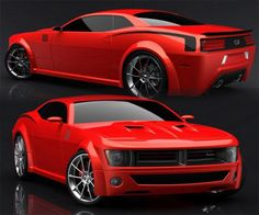 Plymouth Cuda concept I like where this is going