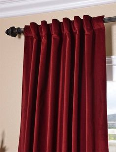shiny satin curtains YUM RED Pinterest Living room