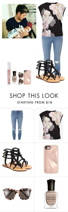 """Meeting Ruby Winston"" by queenroyal54 ❤ liked on Polyvore featuring Dorothy Perkins, Ted Baker, Mystique, Rebecca Minkoff, Gentle Monster, Deborah Lippmann and Victoria's Secret"