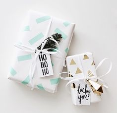 Cute way to spice up your wrapping!