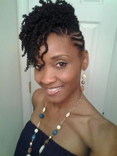 Crochet braids updo protective styles flat twist new Ideas Braided Hairstyles Updo, My Hairstyle, Braided Updo, Natural Twist Hairstyles, Short Crochet Braids Hairstyles, Dreadlock Hairstyles, Wedding Hairstyles, Protective Style Braids, Protective Hairstyles