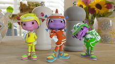 Floogals Juste Jouer pack 3 figurines avec accessoires