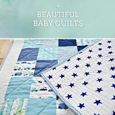 Baby blankets make a wonderful gift, whether it's for a dear friend or a family member. Visit the Craftsy blog to see some of our favorite designs and patterns. Click: http://www.craftsy.com/ext/20130205_14_Quilting_1b