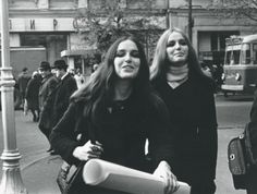 Students in Moscow, 1970s. Photo source (and many amazing pictures by noted photoartists).