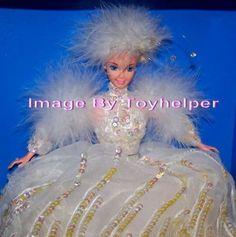 Snow Princess Barbie Doll Enchanted Seasons Collection NIB #Mattel #Dolls