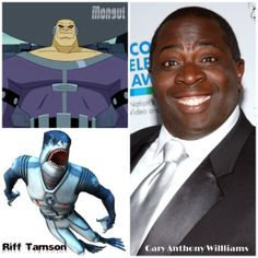 Gary Anthony Williams.  Actor and Voice actor.  To tell you what you work he has done will take too long. See. http://www.imdb.com/name/nm0930637/?ref_=nmmd_md_nm