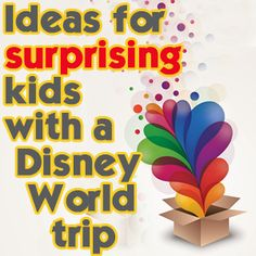 Lots of parents have dreams of surprising their kids with a trip to Disney World. Today, I have some ideas for how you might want to pull off the surprise (just be sure to not have super high expectations for their reaction - you never know how it's going to go). I also have a quick tip on...