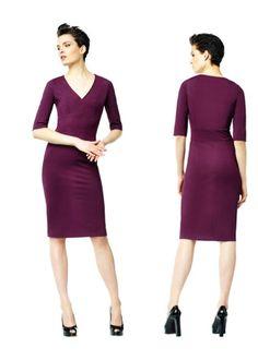Wijnrood jurkje van La Dress