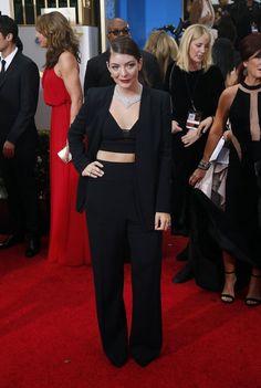 In beeld: de wondermooie looks van de Golden Globes - Mode - KnackWeekend.be