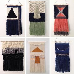 Woven Wall Hangings - Pinterest Predicts the Top 10  Woven Wall Hangings  Woven Wall Hangings Lonny contributor Cat Dash was singing the praises of the woven wall hanging way back in 2014, but we're still feeling these beauties found on Etsy.