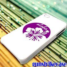 Aloha Mahalo Hawaiian Hibiscus Floral 2 for iPhone, iPod, Samsung Galaxy, HTC One, Nexus **