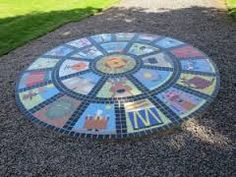 Image result for mosaic sundial designs