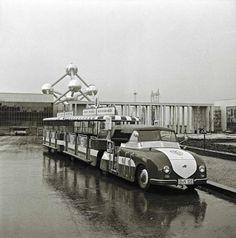 VW-train on Expo-58.
