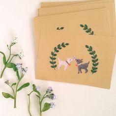 【新刊サイン&限定ポストカード付き】『annasの草花と動物のかわいい刺繍』   net store ~アンナとラパン