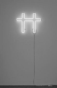 In Nomeni Patri Et Fili Spiritus Sancti White Art, Black And White, White Light, Neon Rosa, Audio, Spiritus, True Detective, White Magic, Neon Glow
