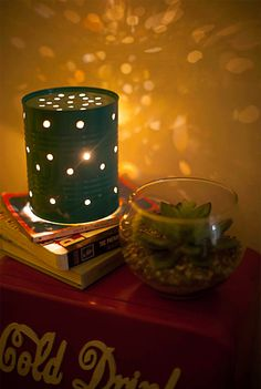 Cool firefly DIY nightlight. #light #diy